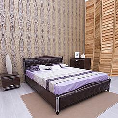 Ліжко дерев'яне двоспальне Прованс з підйомним механізмом