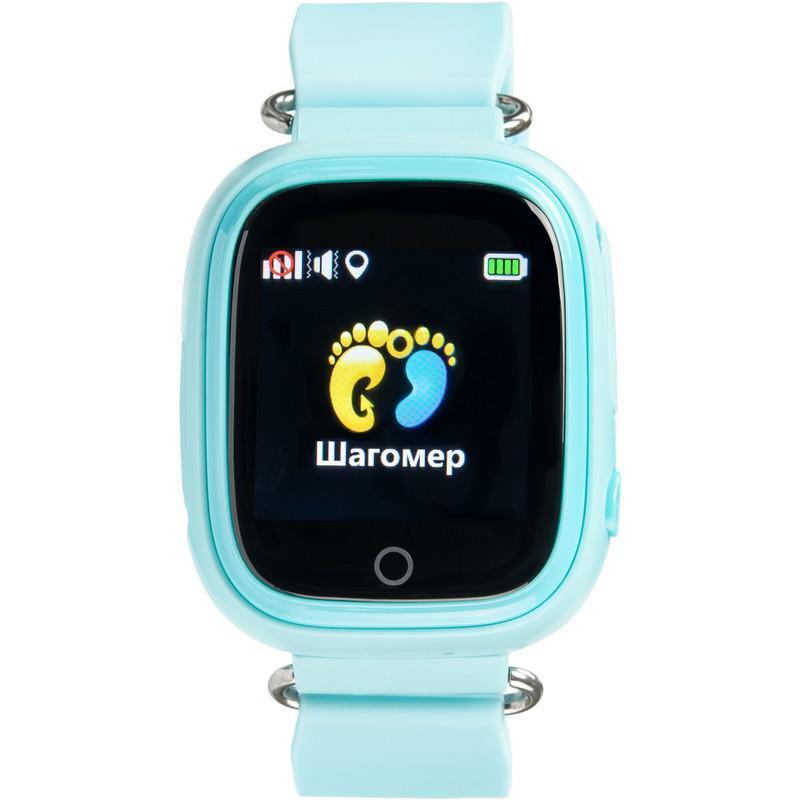 Детские умные часы с GPS трекером Gelius Pro GP-PK003 Blue