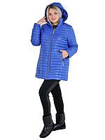 Демисезонная удлиненная женская куртка из плащевки на весну, р-ры 42-54, много расцветок.