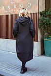 Женская осенняя ветровка куртка плащ ткань плащевка+подкладка  размер: 52-54,56-58,60-62,64-66, фото 2