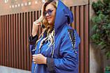 Женская осенняя ветровка куртка плащ ткань плащевка+подкладка  размер: 52-54,56-58,60-62,64-66, фото 3