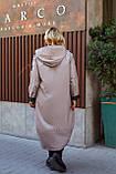 Женская осенняя ветровка куртка плащ ткань плащевка+подкладка  размер: 52-54,56-58,60-62,64-66, фото 5