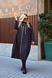 Женская осенняя ветровка куртка плащ ткань плащевка+подкладка  размер: 52-54,56-58,60-62,64-66, фото 7