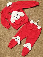 Детский костюм 2-5 лет для девочек Турция оптом