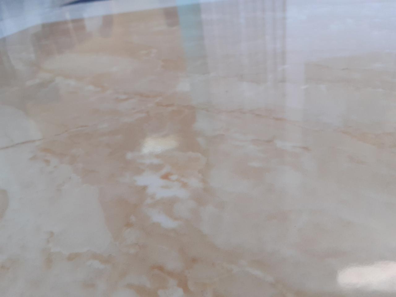 Плитка для пола и стен EINA  Светло-бежевый керамогранит глянцевый 607x607