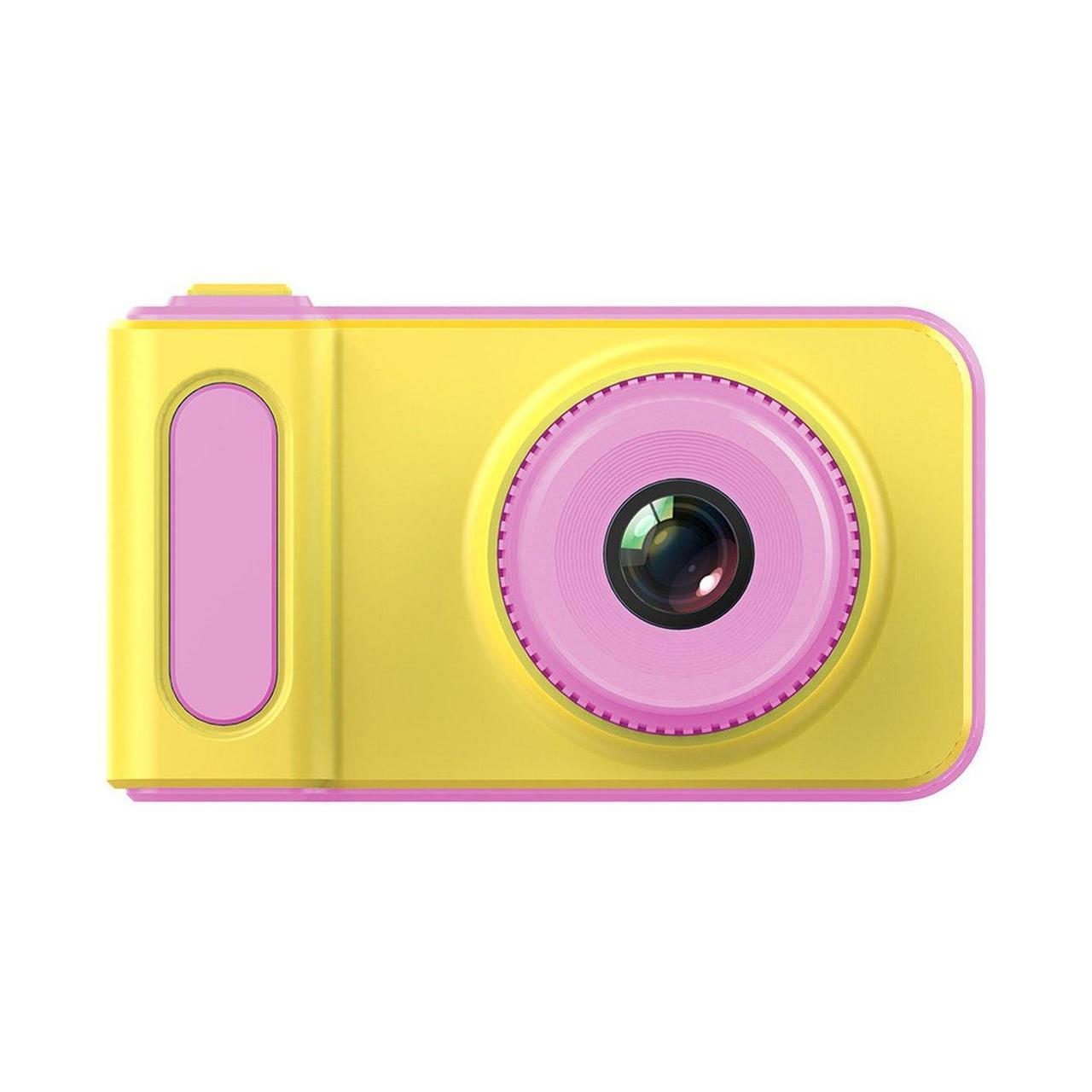 Дропшиппинг. Цифровой детский фотоаппарат розовый Summer Vacation Smart Kids Camera Фото и Видеосъёмка