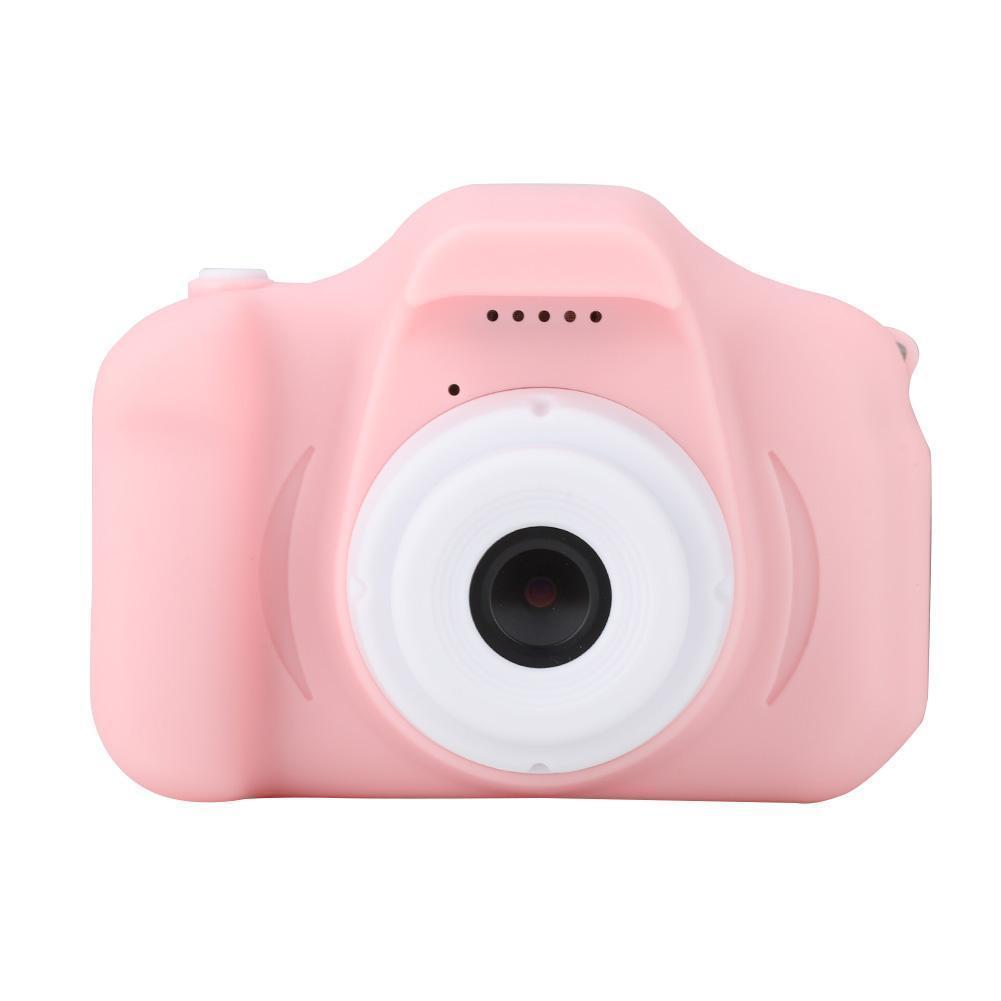 Дропшиппинг. Цифровой детский фотоаппарат розовый Summer Vacation Smart Kids Camera для Фото и Видеосъёмки