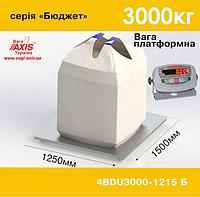 Весы платформенные складские 4BDU3000-1215-Б