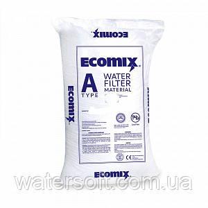 ECOMIX A фильтрующий материал для комплексной очистки воды. Обезжелезивание, умягчение