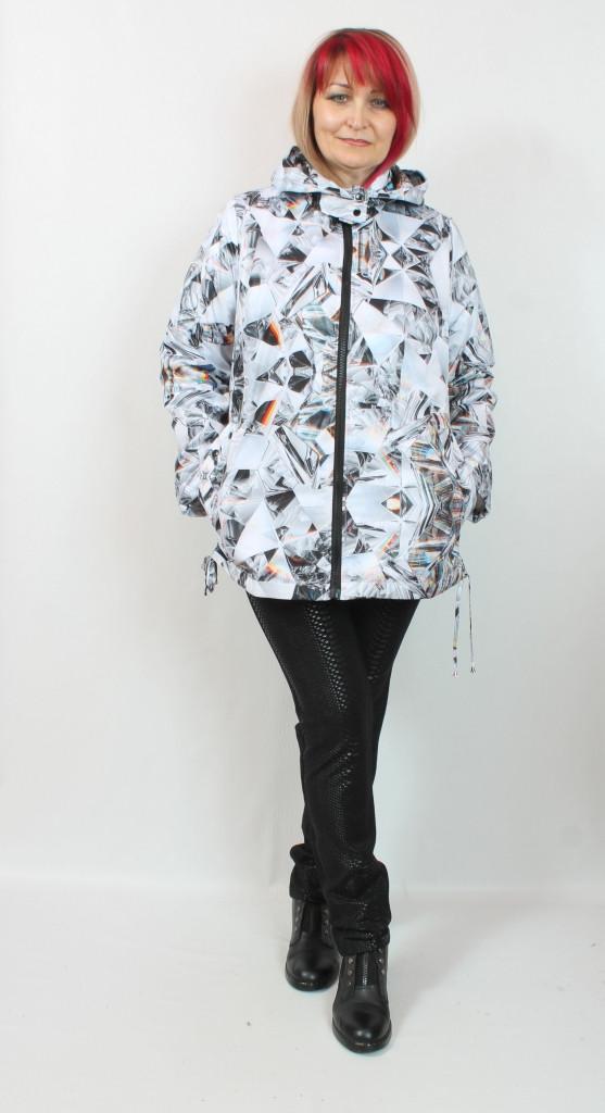 Турецкая женская куртка больших размеров 50-66