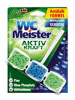 Підвіска для унітаза WC Meister Activ kraft Pine/Forest 45 г (З ароматом хвойного лісу)