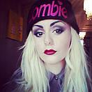 Стильна модна шапка zombie, фото 2