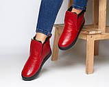 Зимние кожаные ботинки Ankle slip (разные цвета), фото 7