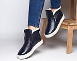 Зимние кожаные ботинки Ankle slip (разные цвета), фото 9