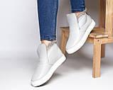 Зимние кожаные ботинки Ankle slip (разные цвета), фото 10