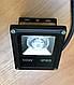Светодиодный линзованый прожектор SL-10Lens 10W красный IP65 Slim Код.59141, фото 2