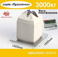 Весы платформенные складские 4BDU3000-1515-П