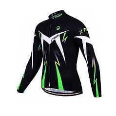 Джерсі вело X-Тідег XM-CY-013 з довгим рукавом кофта Green 3XL