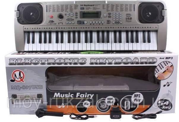 Детский игровой орган-синтезатор, MQ-807 USB, фото 2