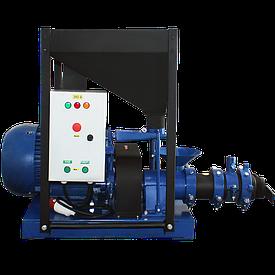 Экструдер ЭГК-350 (Раб. Часть + шкивы для двигателя 1500 об/мин.)
