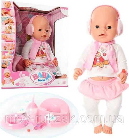 Пупс Baby Born аналог, с аксессуарами, 42 см,  BL010B