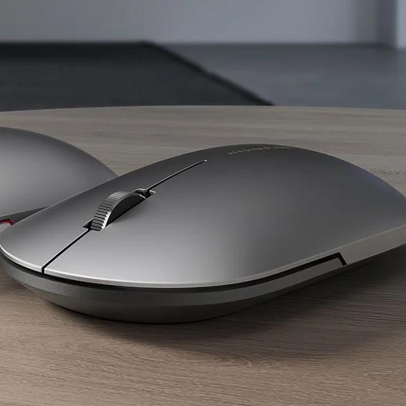 Компьютерные мыши и трекболы Xiaomi Mi Mouse Wireless Elegant Metallic Edition Черный