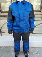 """Рабочий костюм полукомбинезон и куртка """"Сервисавто"""", спецодежда для сто, монтажников"""