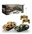 """Детская игра танковый бой """"Kronos Toys"""" 369-23 на радиоуправлении с световыми эффектами аккумулятор 4.8 V, фото 5"""