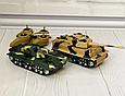 """Детская игра танковый бой """"Kronos Toys"""" 369-23 на радиоуправлении с световыми эффектами аккумулятор 4.8 V, фото 6"""