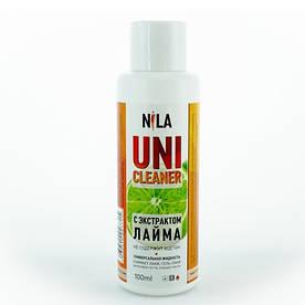 "Жидкость для снятия гель лака ""Лайм"" Nila Uni-Cleaner 100 мл."