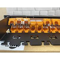 """Патч-панель ATcom P6148 19"""" 24хRJ-45 UTP 1U cat.6, в сборе, фото 2"""