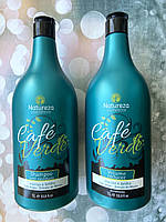 Набір кератину NATUREZA Cafe Verde 1000 мл