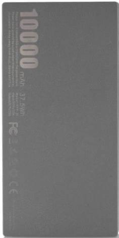 УМБ REMAX Thoway 10000 мАч 2xUSB Серебристый (RPP-55-TARNISH), фото 2