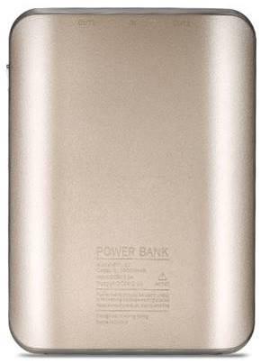 УМБ REMAX Proda Mink 10000 мАг 2xUSB Золотистий (PPL-22-GOLD), фото 2