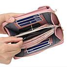 Сумка-портмоне-клатч 3 в 1 Baellerry Originall, женский кошелек портмоне клатч, фото 9