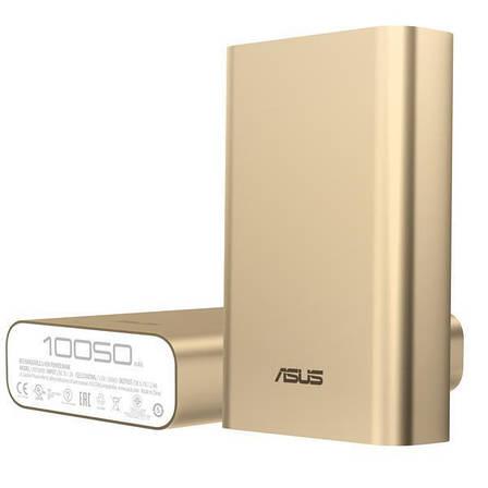 УМБ Power Bank (внешний аккумулятор) для телефона ASUS10050 мАч Золотистый (90AC00P0-BBT078), фото 2