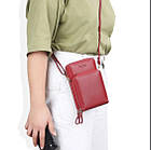 Сумка-портмоне-клатч 3 в 1 Baellerry Originall, женский кошелек портмоне клатч, фото 10