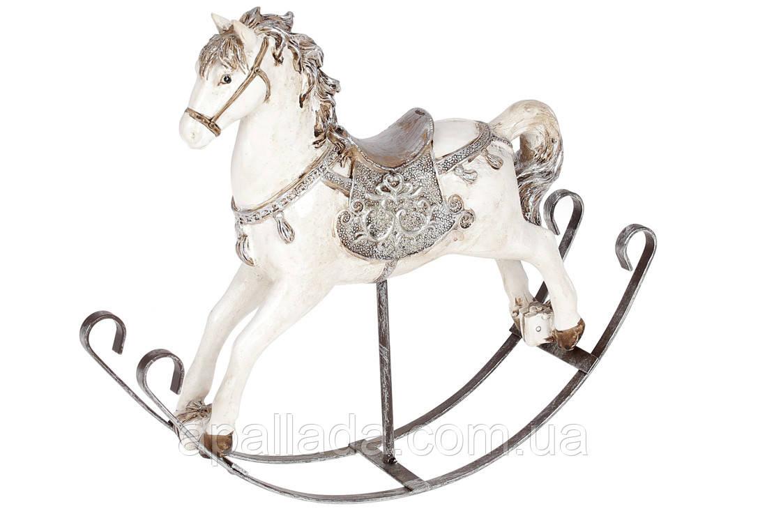 Декоративная статуэтка Лошадка-качалка, 25см