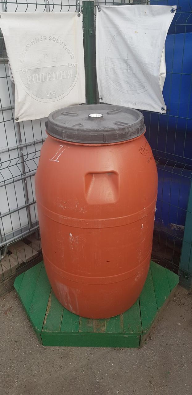0239-20/1: С доставкой в Запорожье ✦ Бочка (200 л.) б/у пластиковая