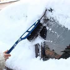 Щітки, водосгоны, скребки, лопати для снігу