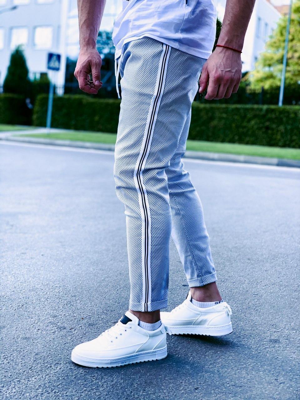 Чоловічі спортивні штани сірі U 13