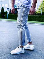 Чоловічі спортивні штани сірі U 13, фото 1