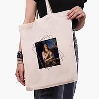Эко сумка шоппер Мария Магдалина (Mary Magdalene) (9227-1413)  экосумка шопер 41*35 см, фото 1