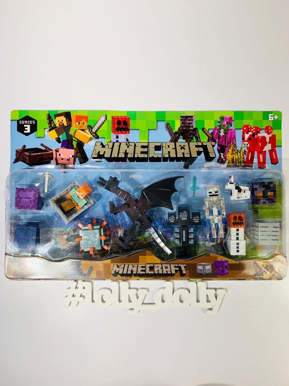 Герої Майнкрафт Minecraft P 19272
