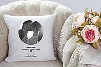 Подушка с Вашим фото и текстом