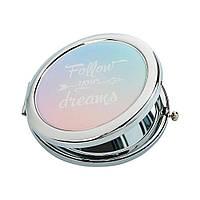 Карманное зеркало ZIZ За своей мечтой зеркальце для макияжа подарочное