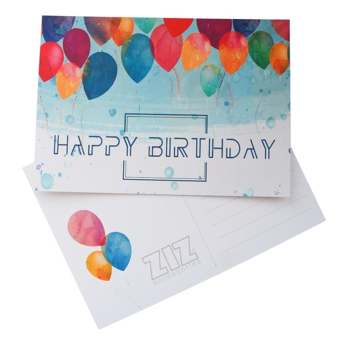 Открытка поздравительная ZIZ День рожденья