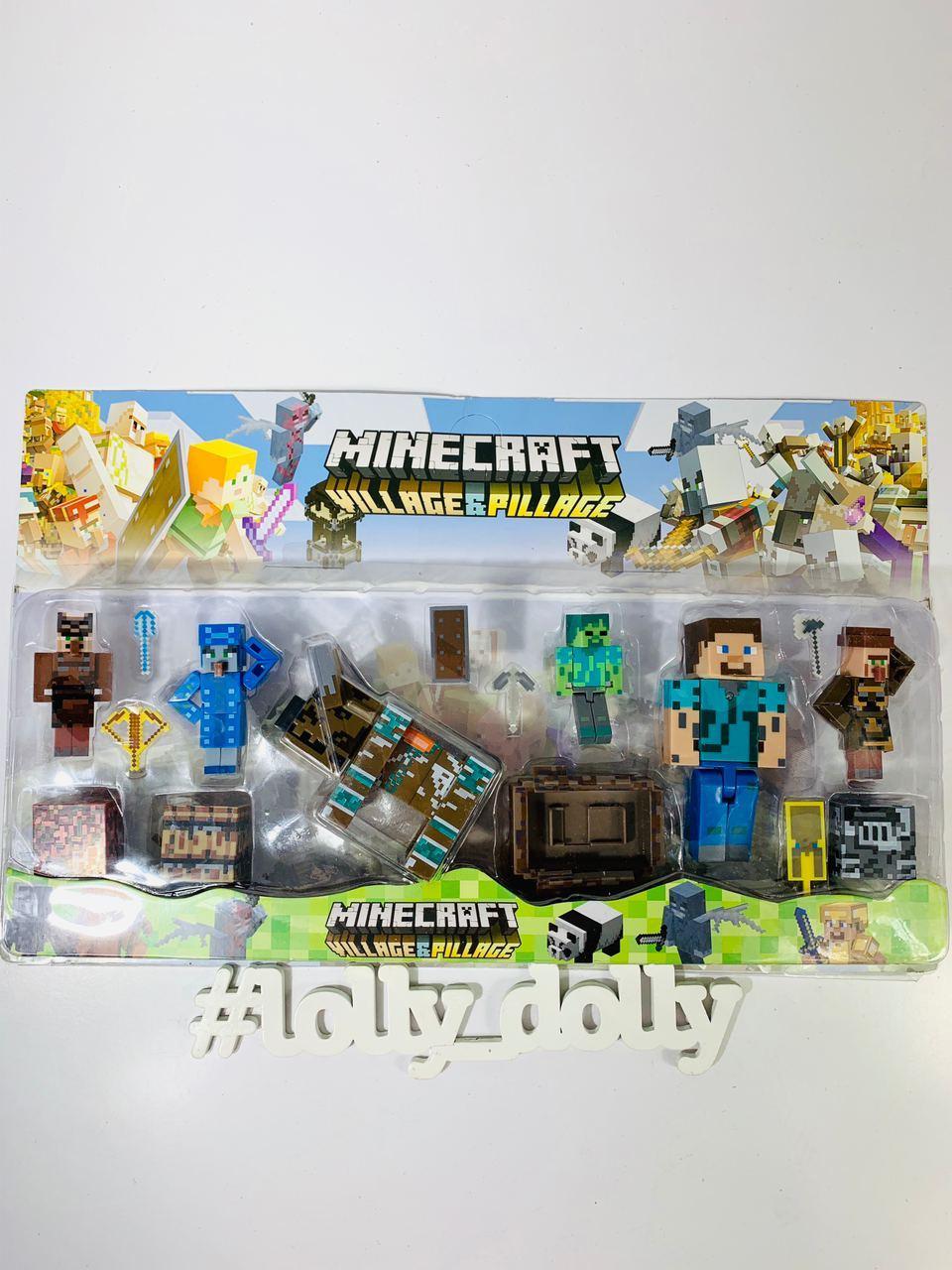 Герои Майнкрафт Minecraft P 19532