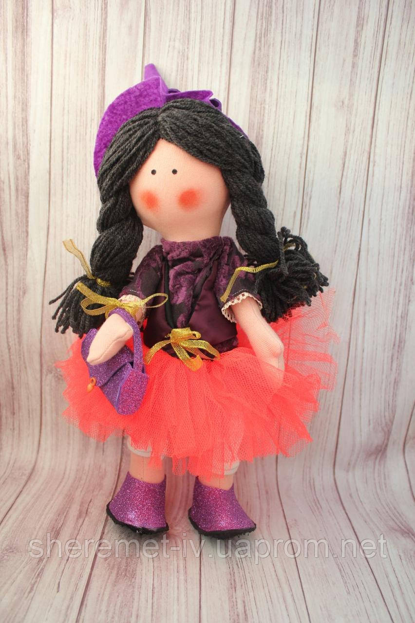 Текстильная кукла Тильда ручная работа