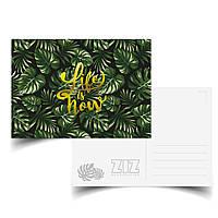 Открытка поздравительная ZIZ Тропики. Жизнь - это сейчас